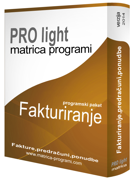 matrica prolight 2014 PROlight
